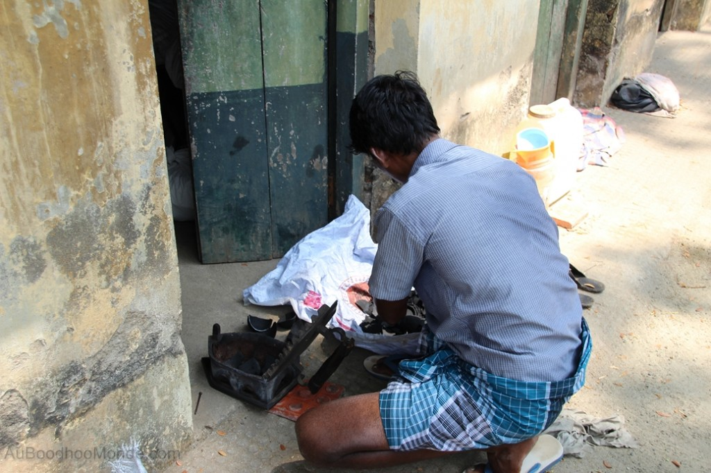 Inde - Kerala Lavoir Kochin