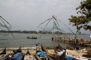 Inde - Kerala chinese fishnets