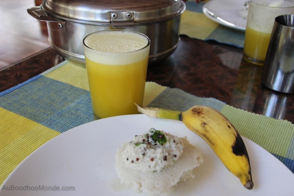 Petit dejeuner Inde du Sud