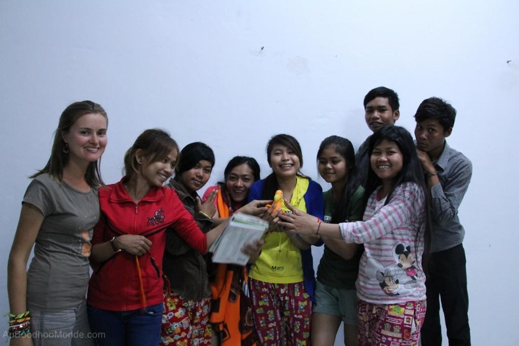 Auboodhoomonde - Dodo Moris - Cambodge Enfants du Mekong