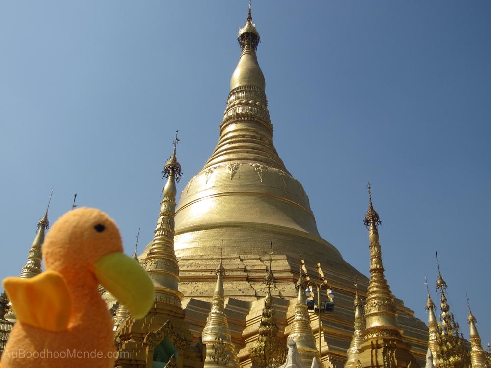 Auboodhoomonde - Dodo Moris - Myanmar Schwedagon