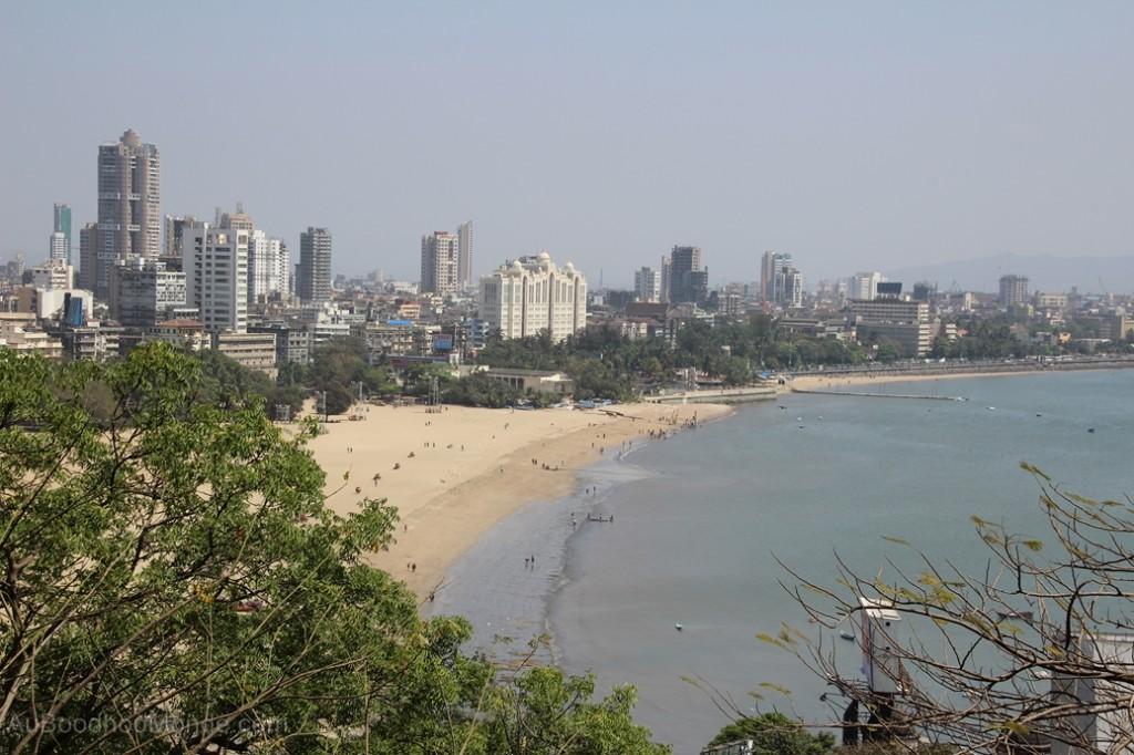 Inde - Chowpatty plage Mumbai