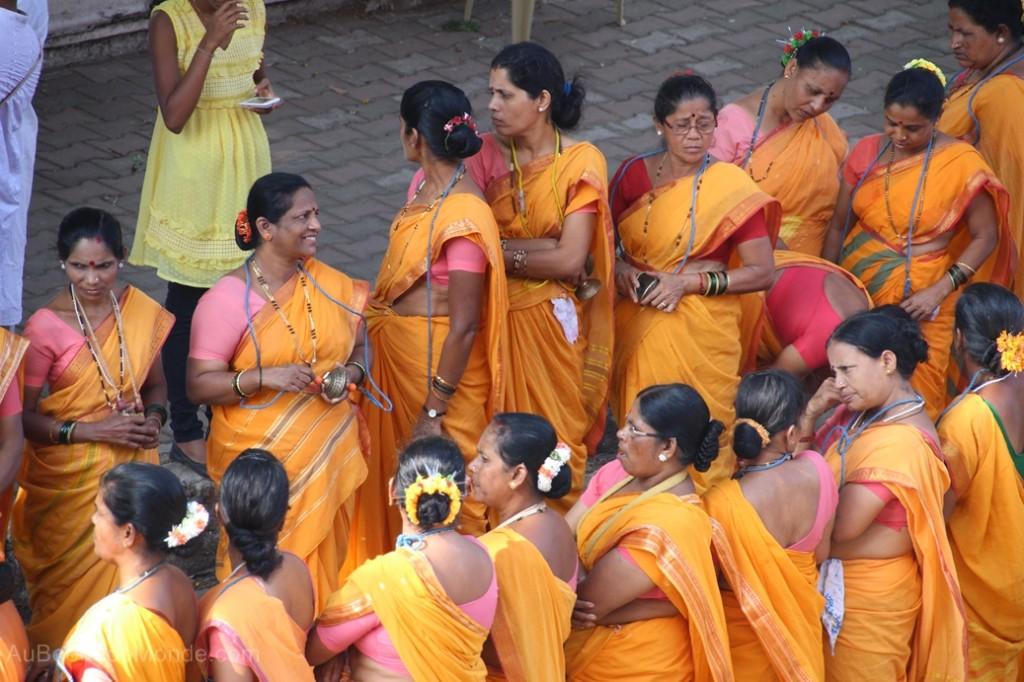 Inde - Femmes en Sari