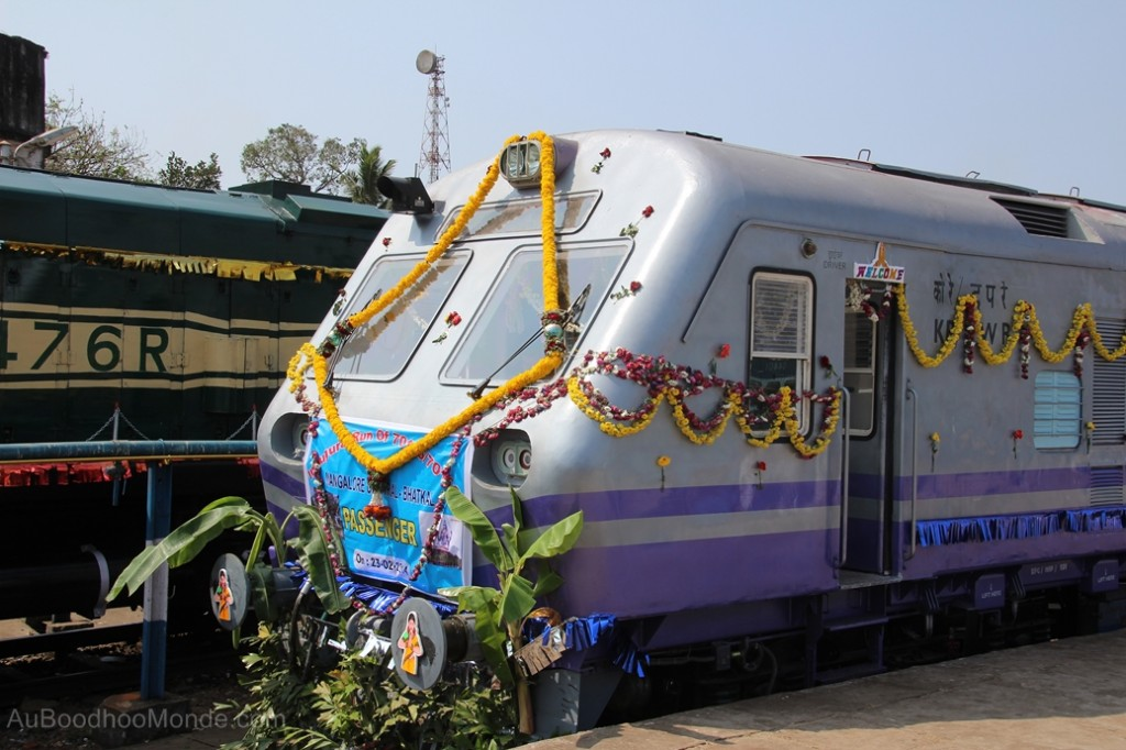 Inde - Inauguration train Mangalore