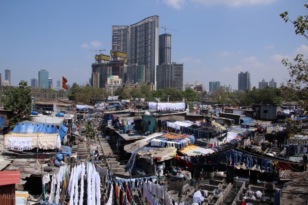 Inde - Lavoir humaine Mumbai