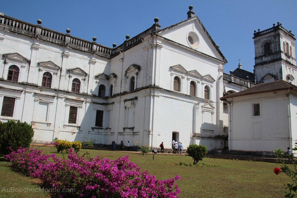 Inde - Old Goa cathedrale