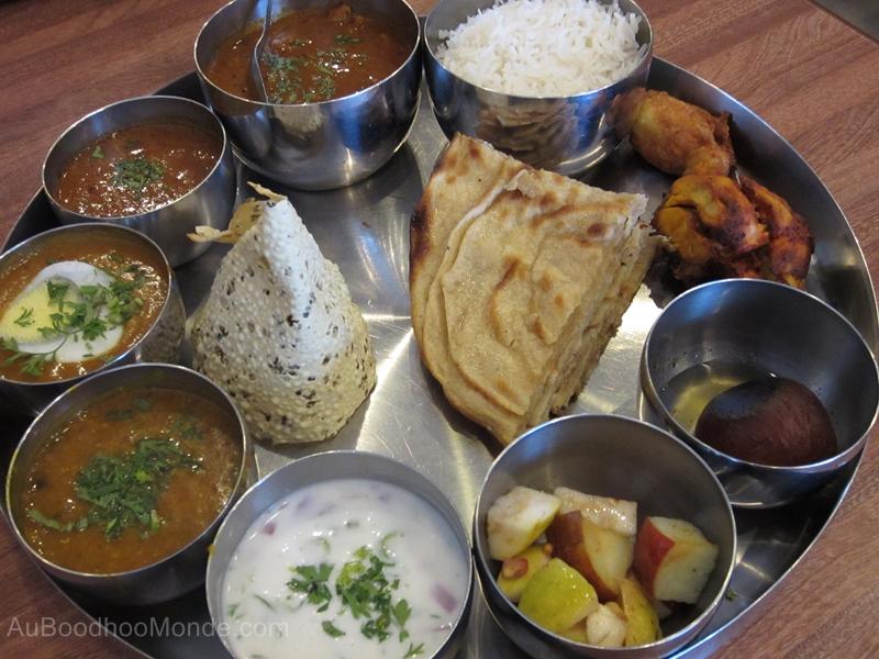 Inde - Thali epice