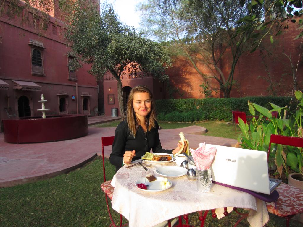 Inde - Bikaner dejeuner