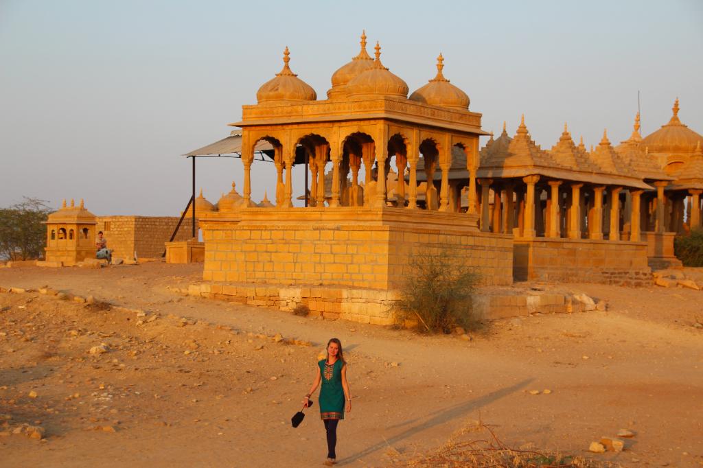 Inde - Jaisalmer cenotaphe Maharaja