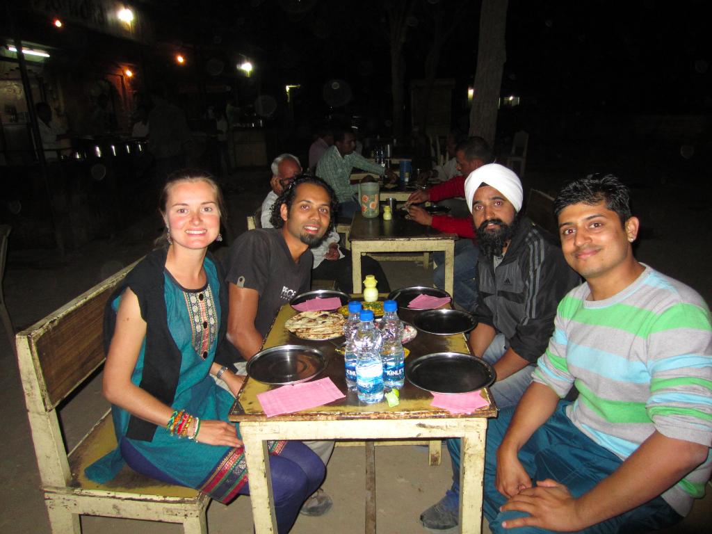 Inde - Jaisalmer diner Rajasthan