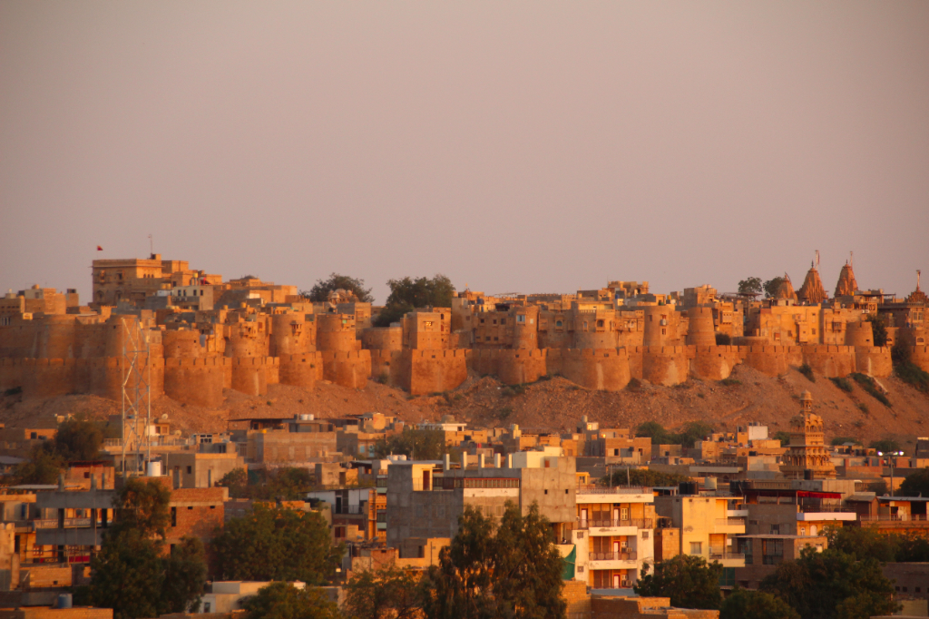 Inde - Jaisalmer fort sable