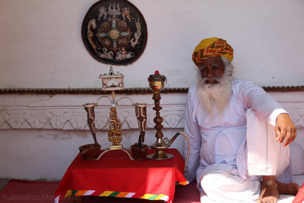 Inde - Rajasthan - Homme - Turban