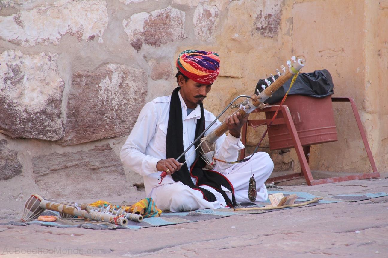 Inde - Rajasthan - Homme turban