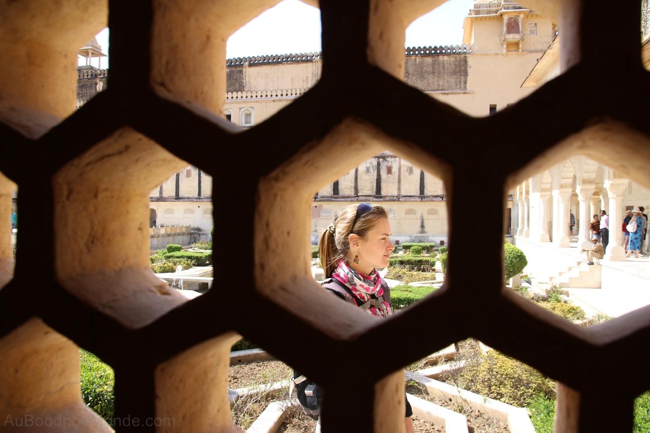 Inde - Rajasthan - Jaipur - Ambert Fort - Jhali