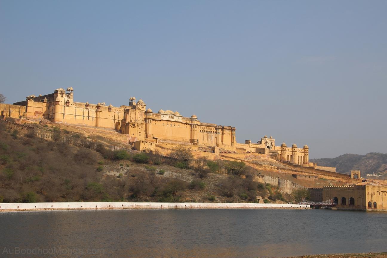 Inde - Rajasthan - Jaipur - Ambert Fort