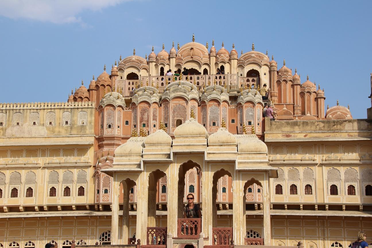 Inde - Rajasthan - Jaipur - Palais des vents - Hawa Mahal