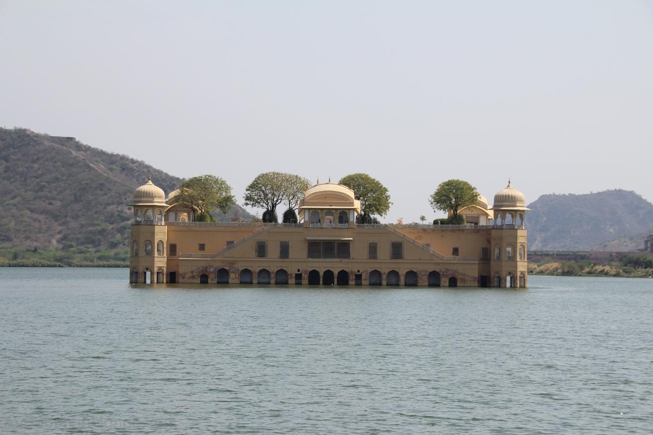 Inde - Rajasthan - Jaiput - Jal Mahal