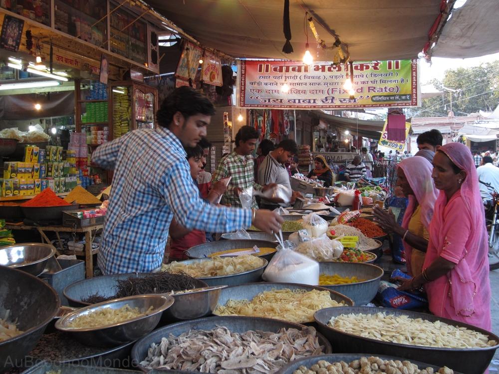 Inde - Rajasthan - Jodhpur - Marche