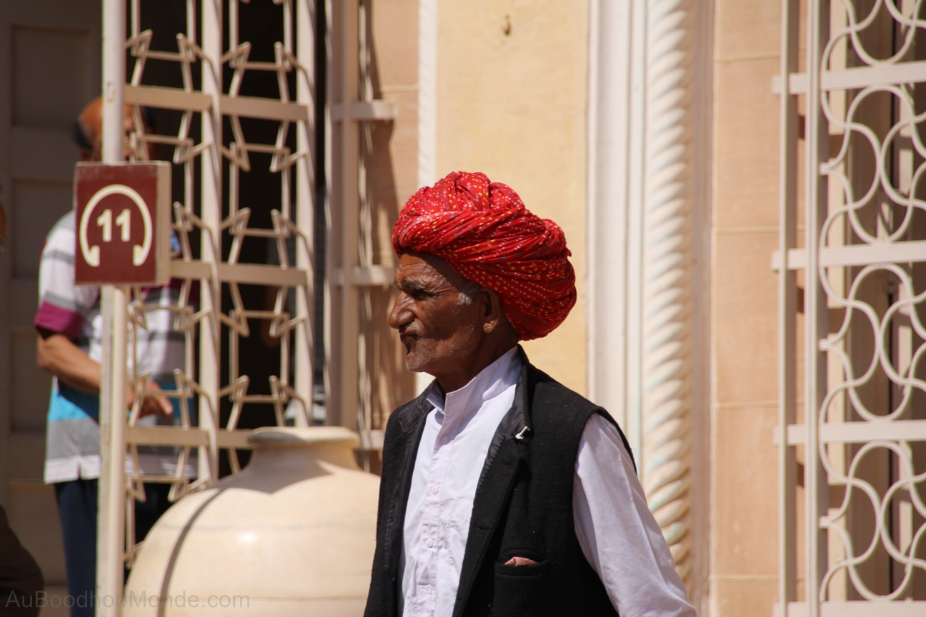 Inde - Rajasthan - Turban homme