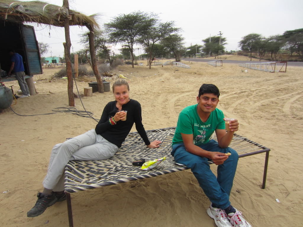 Inde - Rajasthan roadtrip chai