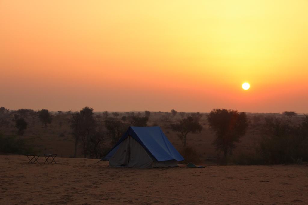 Inde - Thar lever de soleil