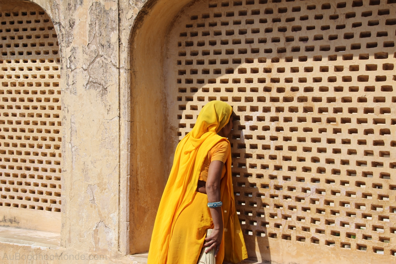 Inde - Rajasthan - Ambert Fort - Jhali