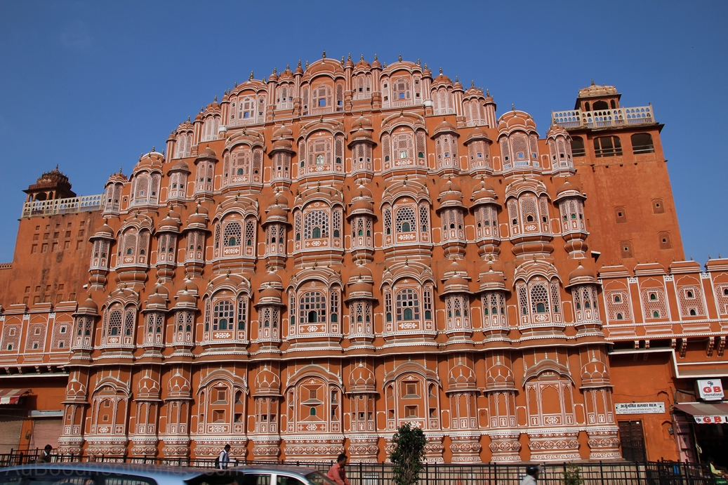 Inde - Rajasthan - Jaipur - Hawa Mahal