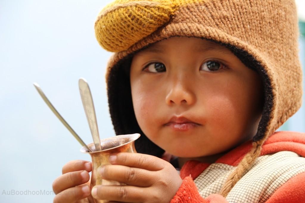 Enfant Nepal Ghandruk