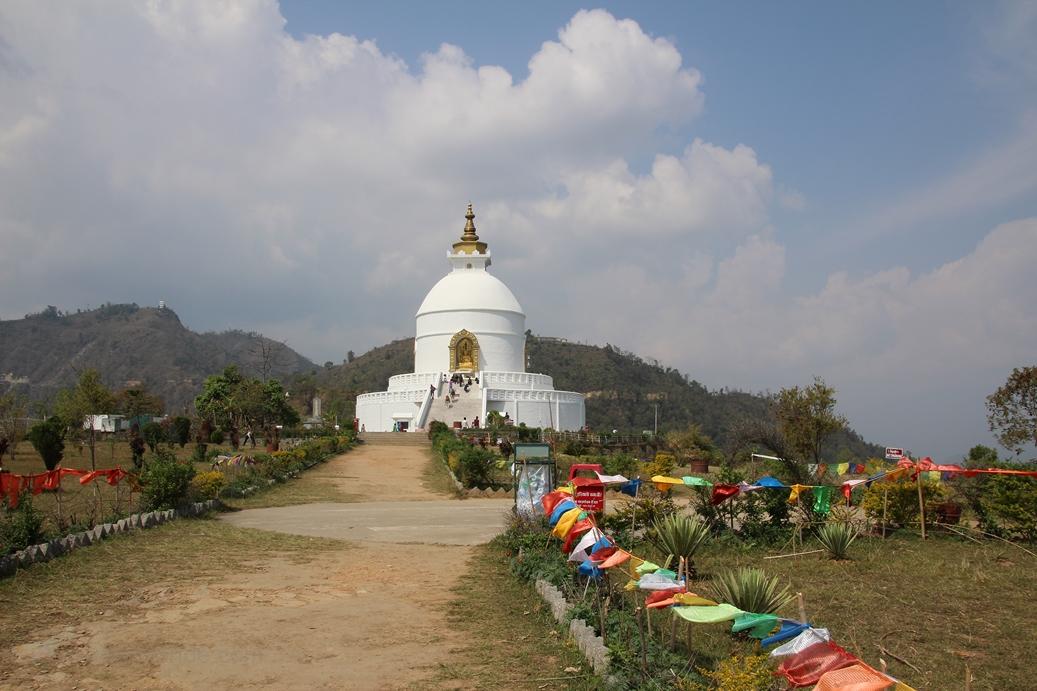 Pagode de la paix - Pokhara