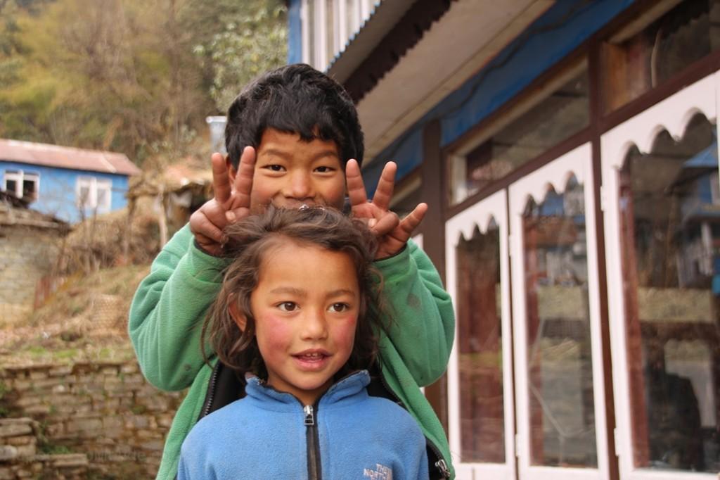 TRek Ghorepani - enfants