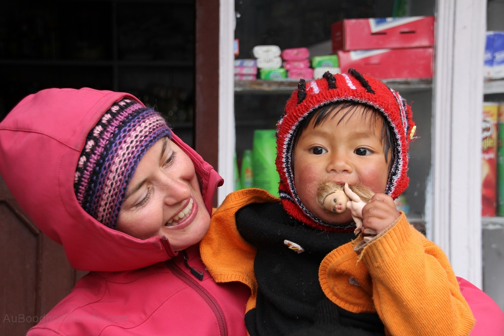 Trek - Nepal Enfants