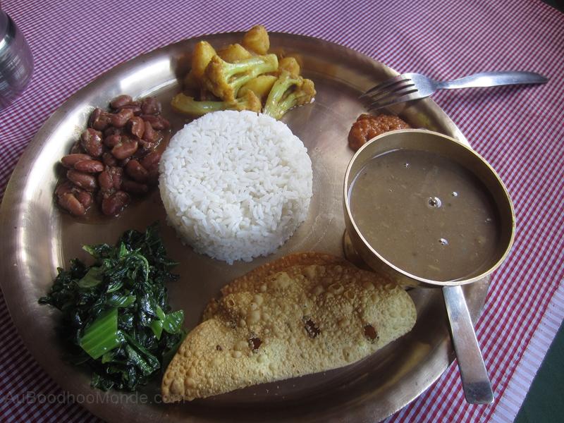 Trek Nepal - bon dhal bhat