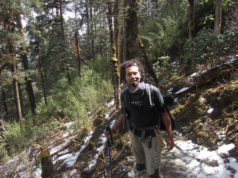 Trek Nepal - neige
