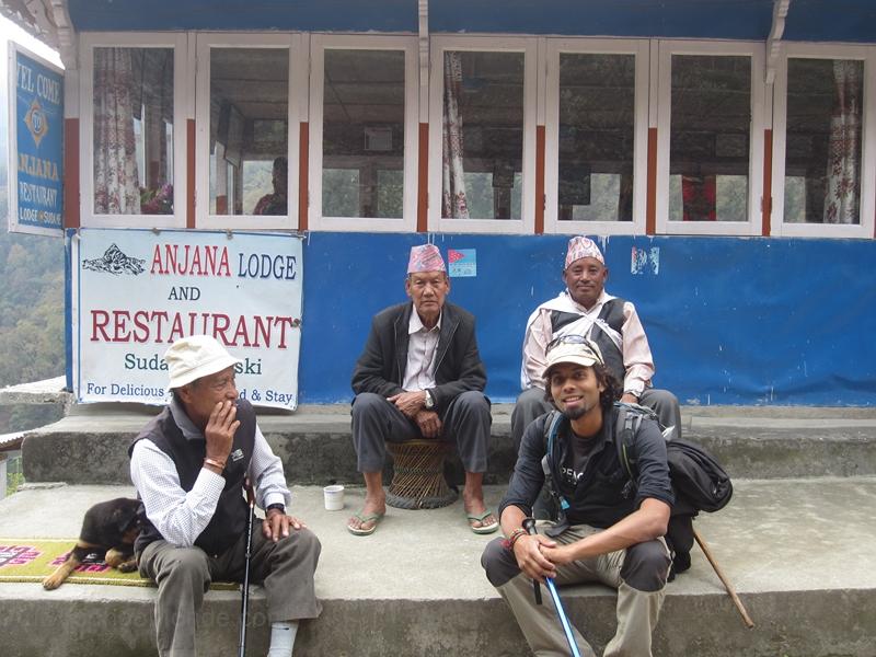 Trek Nepal - pause