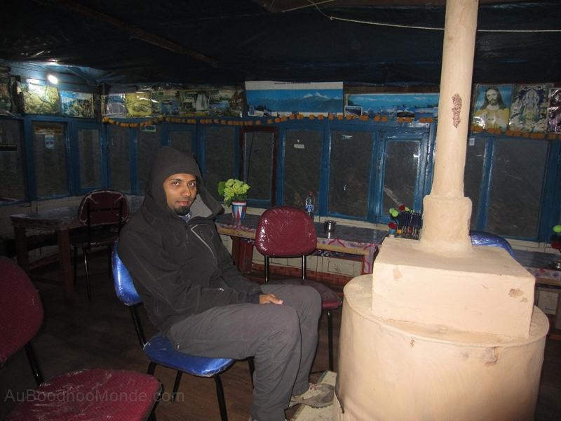 Trek Nepal - poele a bois