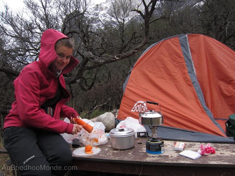 popote de camping