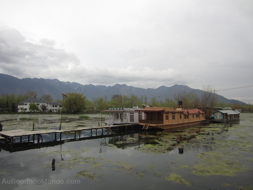 Cachemire Dal Lake houseboat