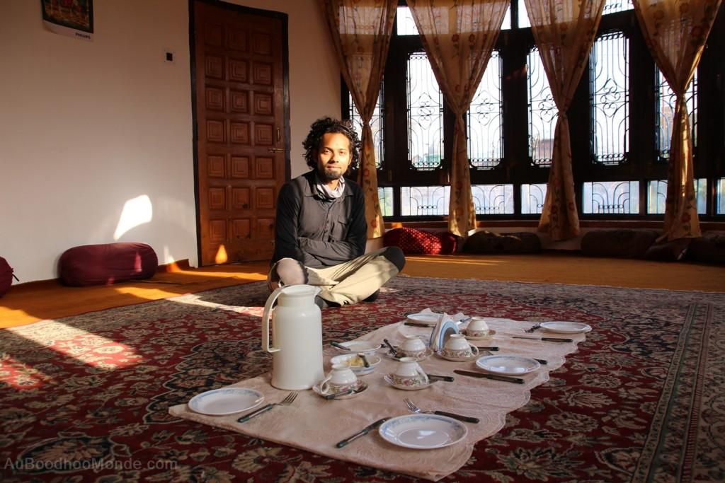 Kashmir petit dejeuner