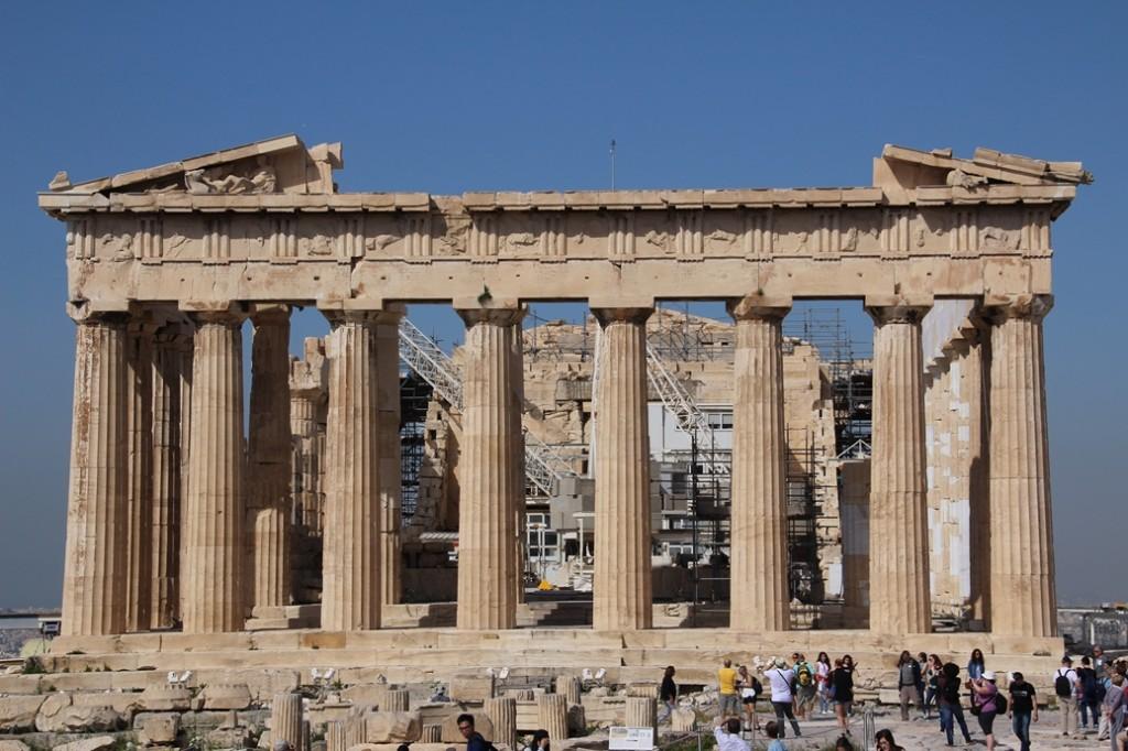 Grece - Athenes - Acropole Parthenon