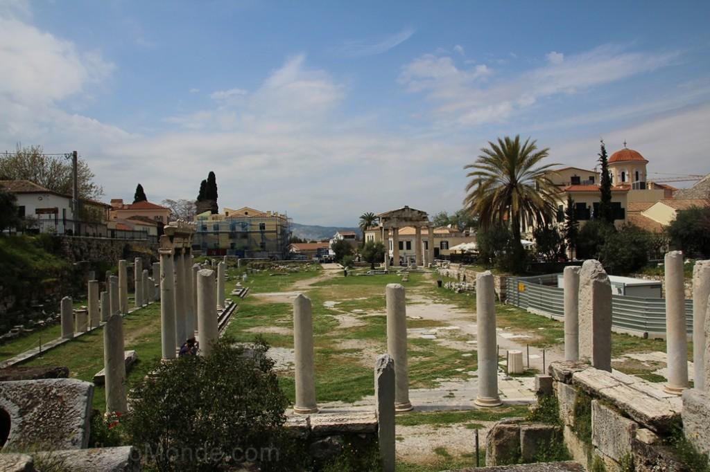 Grece - Athenes - Agora Romaine