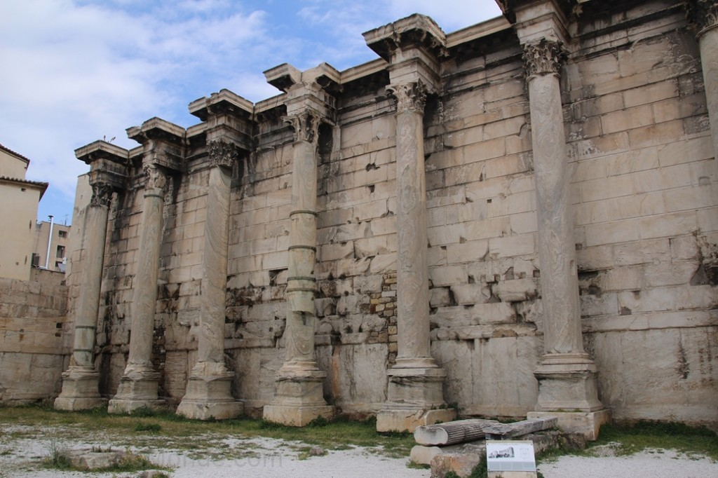 Grece - Athenes - Bibliotheque Hadrien