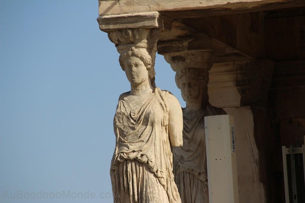 Grece - Athenes - Caryatides
