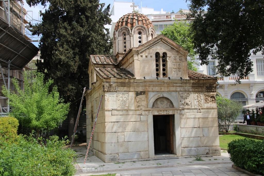 Grece - Athenes - Eglise Byzantine