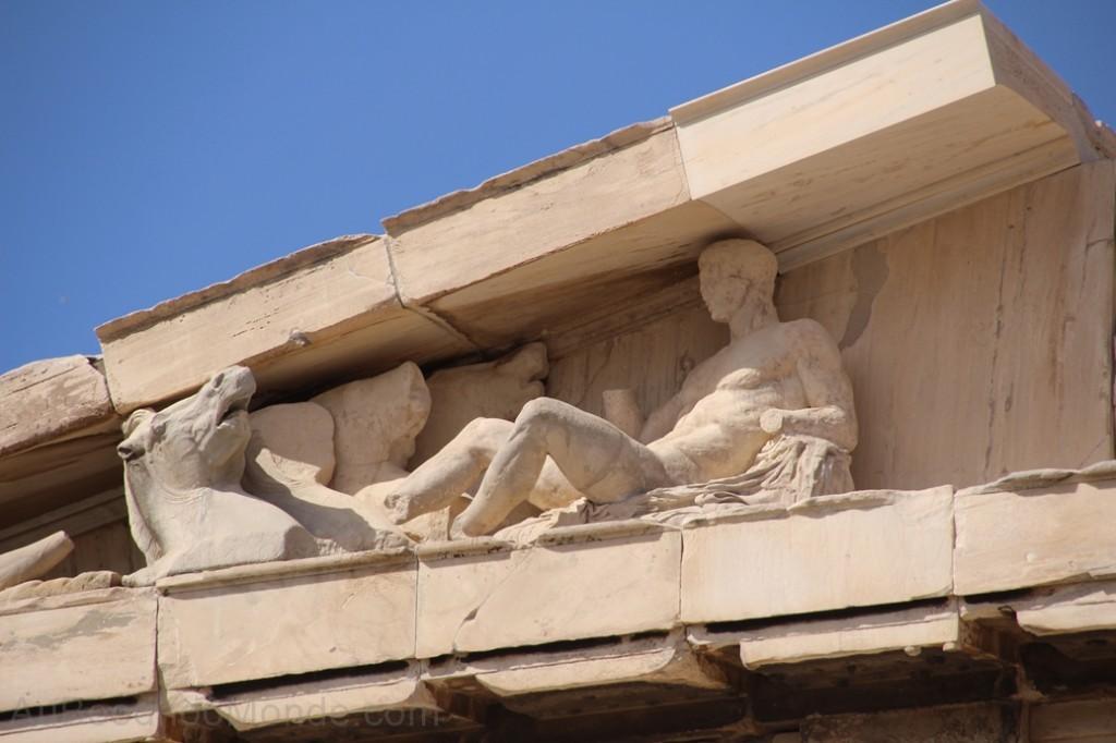 Grece - Athenes - Frise PArthenon