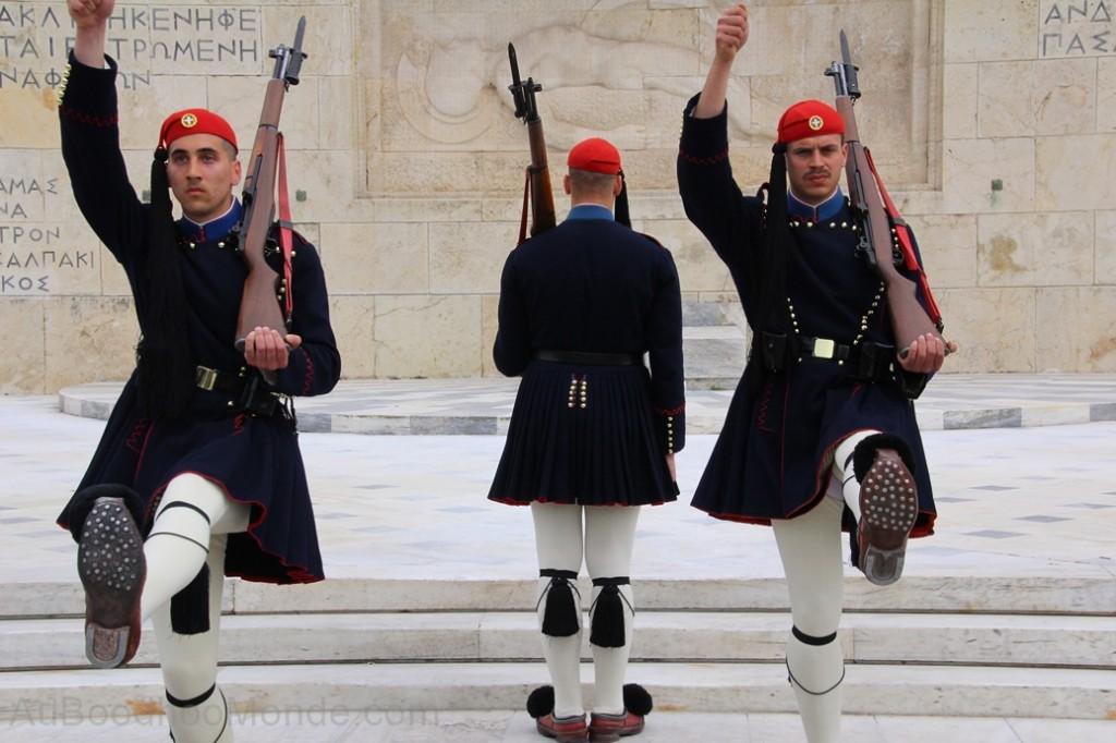 Grece - Athenes - Releve Gardes