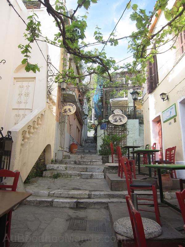 Grece - Athenes - Ruelles Plaka
