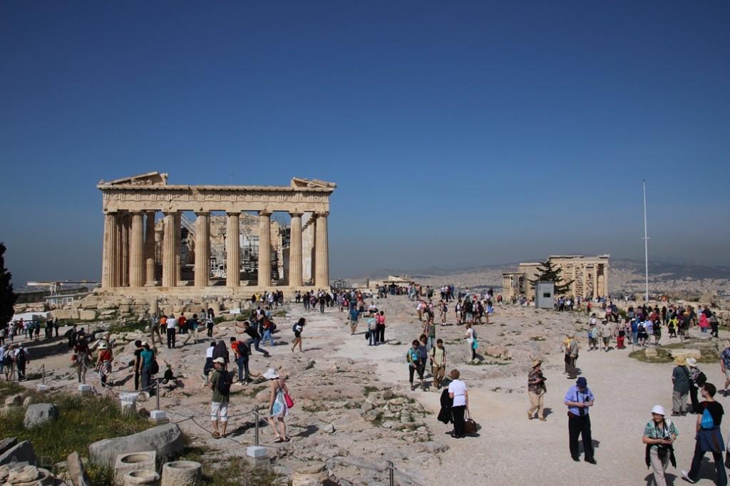 Grece - Athenes - Site Acropole