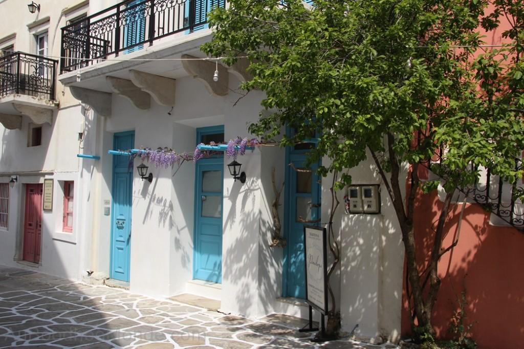 Grece - Naxos - Halki maison