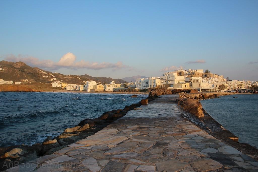 Grece - Naxos - Hora coucher soleil