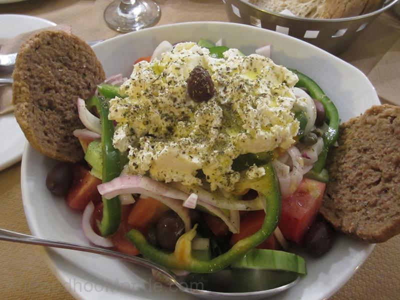 Grece - Naxos - Salade grecque